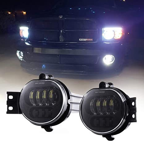 Amazon.com: Z-OFFROAD - 2 luces LED antiniebla para ...