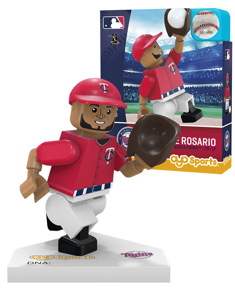 red White//Blue MLB Minnesota Twins Sports Fan Bobble Head Toy Figures One Size
