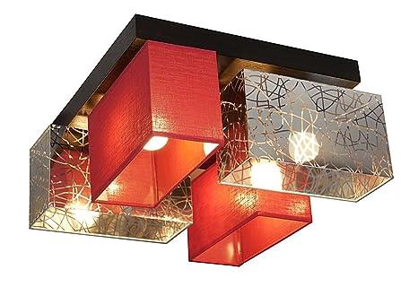 Plafonnier wero design bilbao 004 plafonnier applique lampe