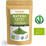 Japanese Organic Matcha Green Tea Powder [ Premium Grade ] 50 gr | Tea Produced in Japan, Uji, Kyoto | Use for Drinking, Cooking, Baking, Smoothie Making and with Milk | Vegan & Vegetarian Friendly