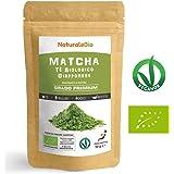 Japanese Organic Matcha Green Tea Powder [ Premium Grade ] 50 gr | Tea Produced in Japan, Uji, Kyoto | Use for Drinking, Cooking, Baking, Smoothie Making and with Milk | Vegan & Vegetarian Friendly