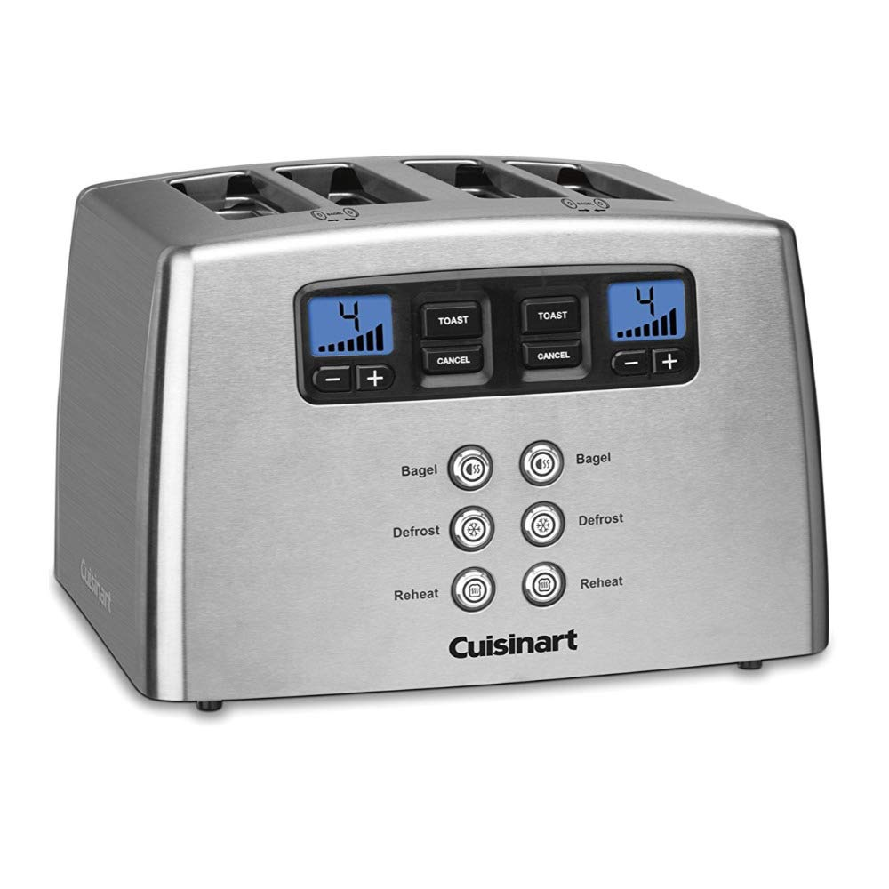 Cuisinart CPT-440 Touch to Toast Leverless 4-Slice Toaster (Renewed) by Cuisinart (Image #3)