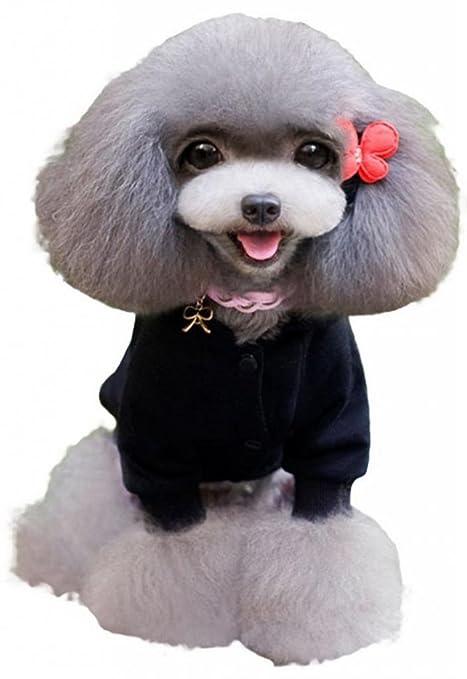EOZY Costumes / Sudaderas / Abrigo Para Perros Gatos Mascota Con Capucho Talla L Negro