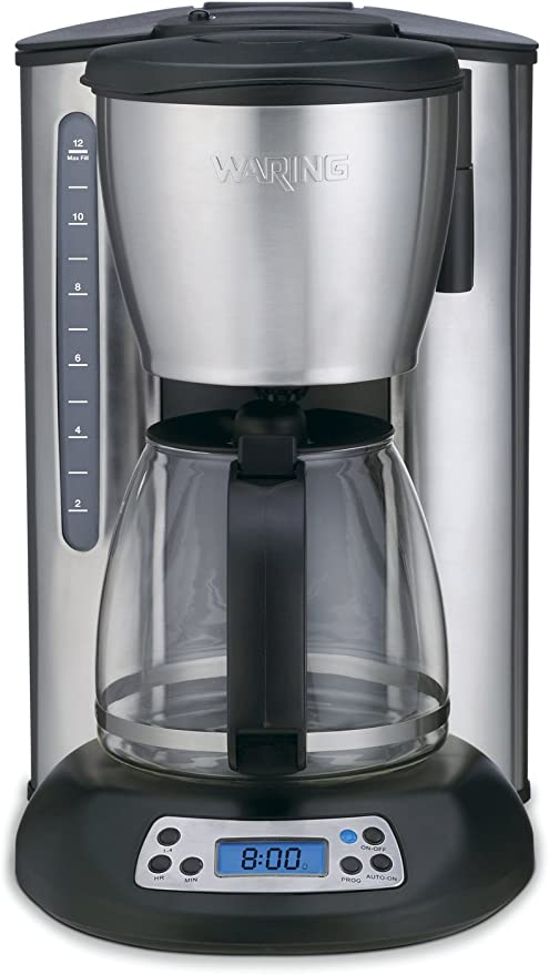 Amazon.com: Waring cms120 Professional 12 Copa Cafetera ...
