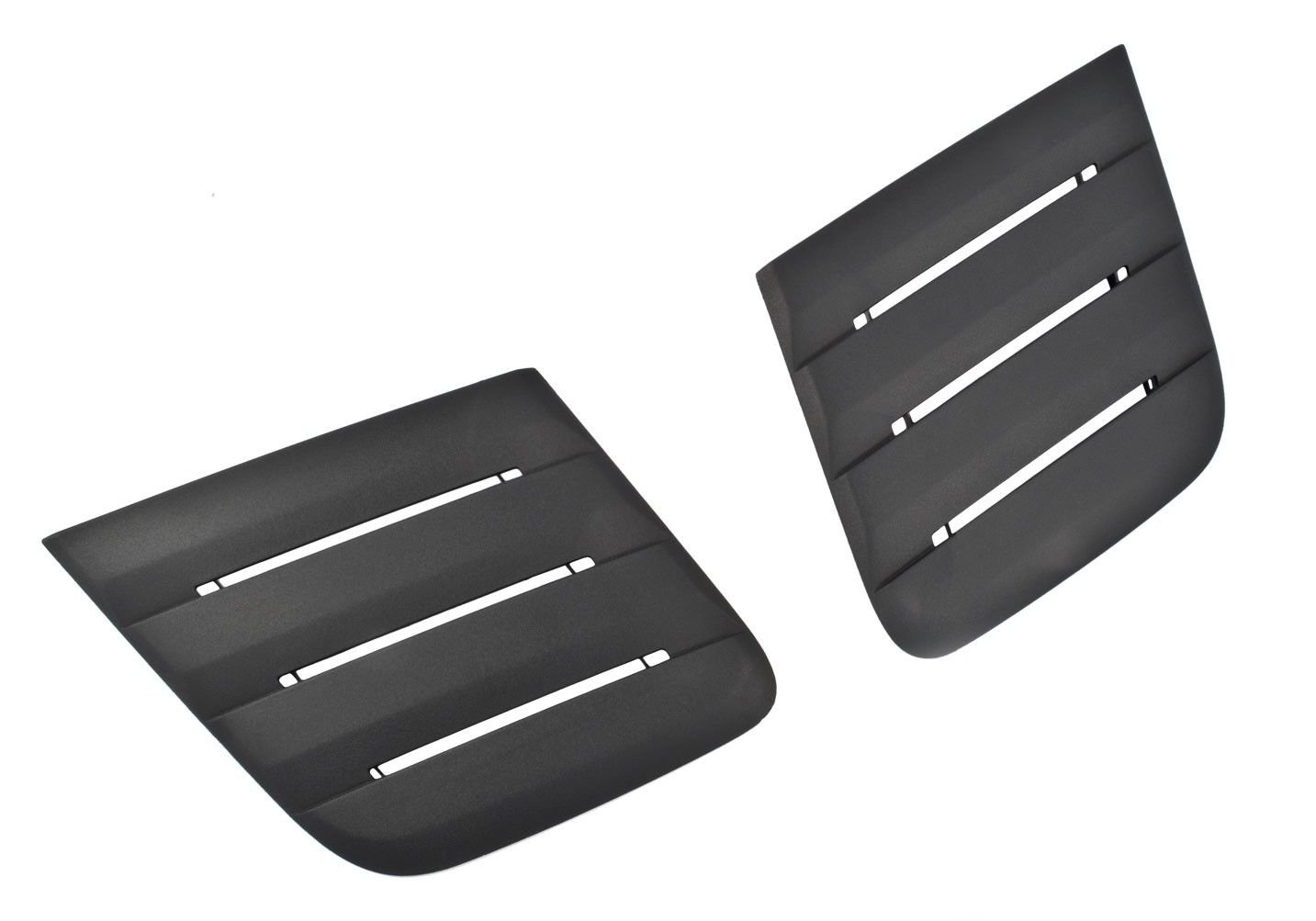 Yates Performance Roush 422083 Black Hood Vent Heat Extractors for 2018-2019 Mustang