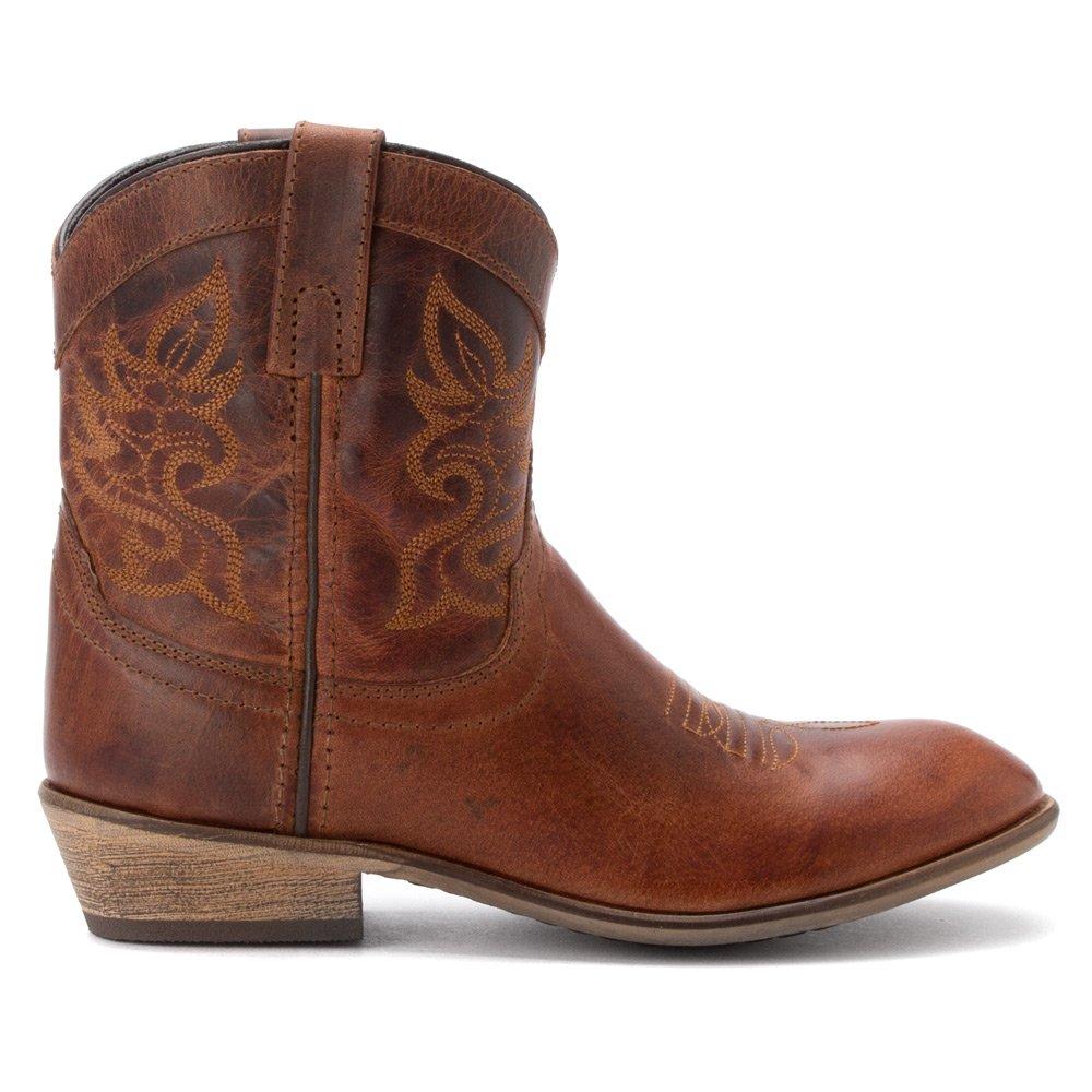 Dingo Women's Willie Western Boot B00GGS282S 7.5 B(M) US|Brown