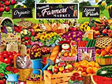 MasterPieces EZGrip Trendz, Extra Large Jigsaw Puzzle, Farmers Market, 300 Pieces, for Ages 9+