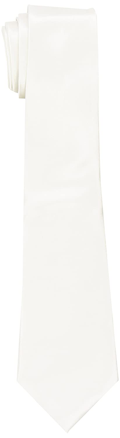 Deluxe White Gangster Tie Smiffys Smiffy's 22869