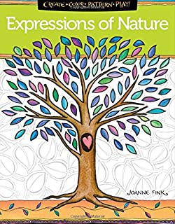 Expressions Of Nature Coloring Book Create Color Pattern Play Zenspirations