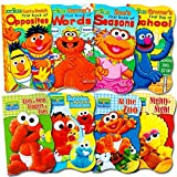Sesame Street board books set for kids and toddlers, featuring Elmo, Cookie Monster, Big Bird and more! 8 board books total! Colorfully illustrated Sesame Street books join Elmo and more as they go on adventures. The perfect books to teach the joys o...