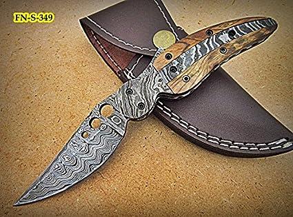 Amazon.com: fn-s-349, personalizado hecho a mano acero de ...
