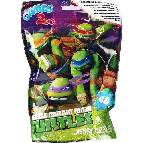Puzzle tortugas ninja 48 pzas sobre: Amazon.es: Juguetes y ...