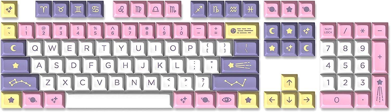 Drop Astrolokeys DSA Profile ABS Doubleshot Keycaps - 104 Keys