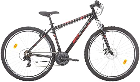 Bikesport HI-Fly Bicicleta de montaña, Hombre, Black Gloss, XL ...