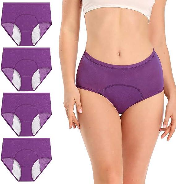 wirarpa Bragas Menstruales Absorbentes Culottes Mujer para Período