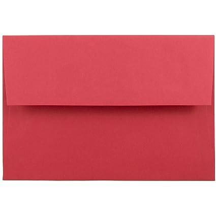 amazon com jam paper a8 colored invitation envelopes 5 1 2 x 8 1