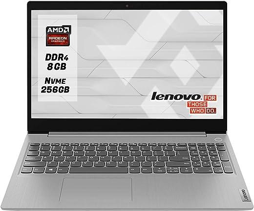 "Notebook Lenovo Ideapad Silver Pc portatile cpu Amd A4 3020 Display 15.6"" Ram 8Gb Ddr4 SSd M.2 256 Gb NVMe,Hdmi,Wi fi,Bluetooth,Windows 10 Professional"