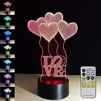 Luz de Noche para niños con Control Remoto táctil Color lámpara de ...