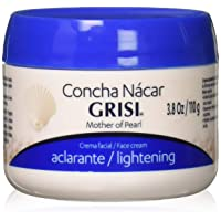 Grisi Mother of Pearl Face Cream Lightening, 3.8 oz (Pack of 3)