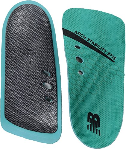 - New Balance Insoles 3715 3/4 Arch Stability Insole Shoe, teal, Medium/W 7.5, M 6 D US