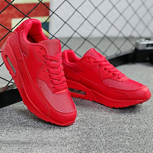 De Rouge Sneakers Course Mode Athlétique Outdoor Fitness Basket Casual Chaussures Multisports Gym Femme Sports qwStYWO