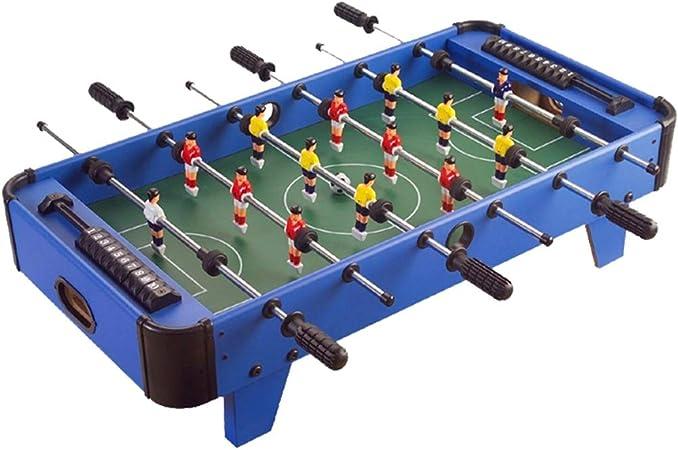 Futbolín Diversión portátil Foosball Fútbol Tableros de Fútbol - Fútbol recreativo mano for salas de juego Salas
