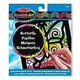 Melissa & Doug Light Catcher Scratch Art Kit: Butterfly