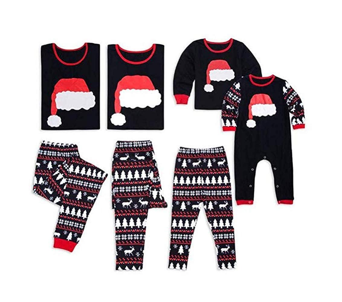 Nhmpretty Christmas Holiday Family Matching Sleepwear Pajamas Set Couples Pajamas