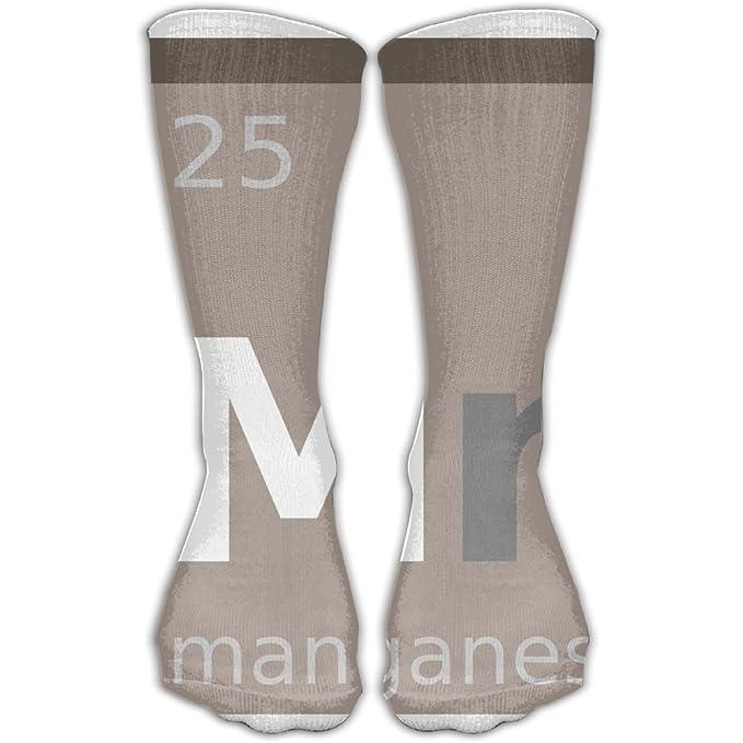059ea1902bce SESY Mn Chemical Element Symbol Manganese Unisex Crew Socks Short Sports  Socks. at Amazon Men s Clothing store