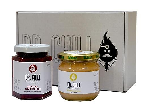 Leckere Weihnachtsgeschenke.Weihnachten Mit Dr Chili Chilli Honig Sauerkirsche Marmelade
