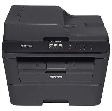 Brother MFC-L2720DW Multifuncional - Impresora multifunción (Laser, Mono, Mono, 3 ppm, 2400 x 600 dpi, 15 ipm) Negro