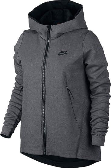 53c37a2ba50c NIKE Sportswear Tech Fleece Women s Hoodie at Amazon Women s ...