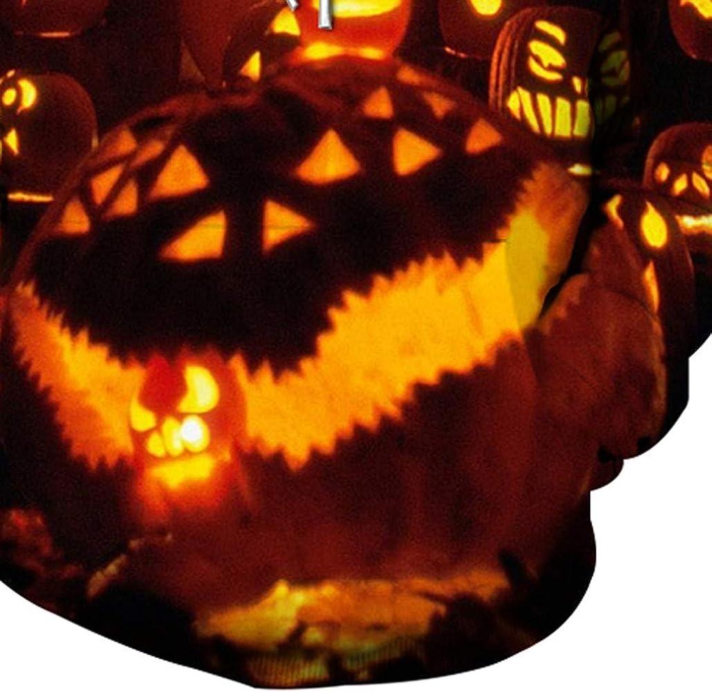 LUNULE 3D Calabaza De Halloween Sudaderas con Capucha Hombre ...