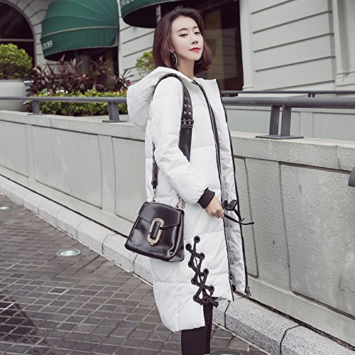 Of Girl Girls The Feather Cotton Clothing Long White Cotton Clothing Section Winter And Coat Harajuku Xuanku Versatile Bread Jackets wBZqff