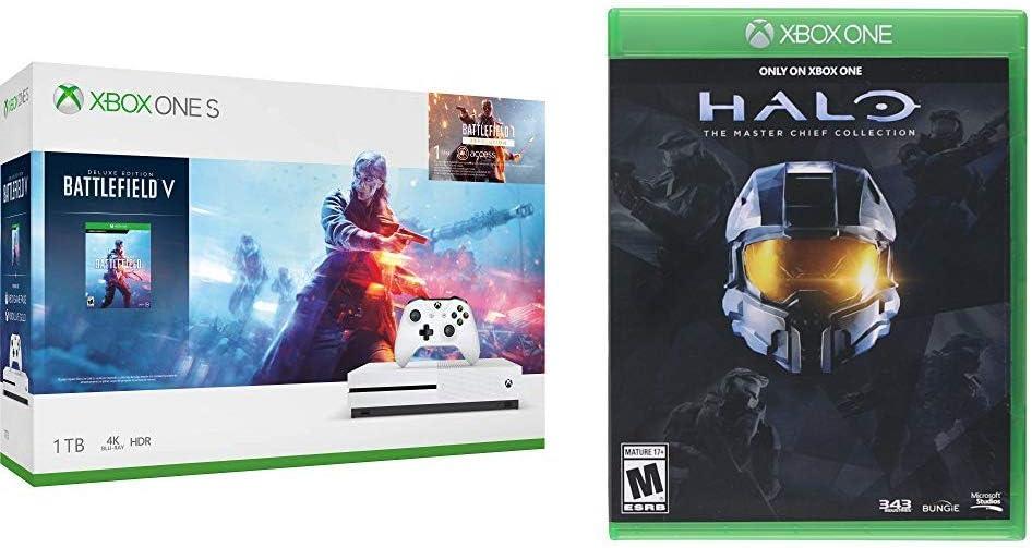 Amazon Com Xbox One S 1tb Console Battlefield V Bundle