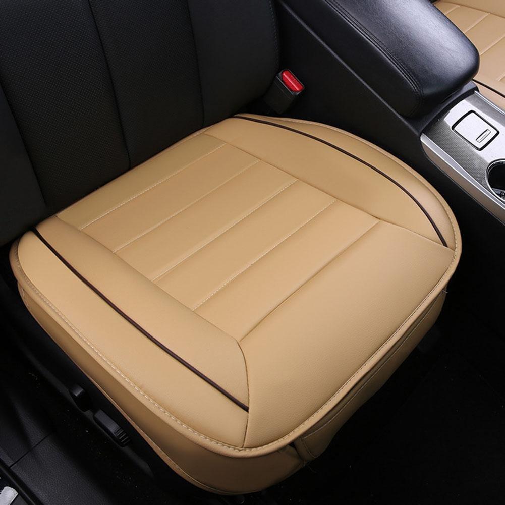 53 cm 2 ST/ÜCKE A GxNI Auto Sitzbezug 3D PU Leder Breathable Bequeme Auto Sitzkissen Pad Matte Volle Abdeckung Die Sitzkante f/ür Auto Vordersitz 49