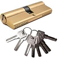 Liwein Sluitcilinder, profielcilinder, deurcilinder, slotcilinder, deurslot met 8 veiligheidssleutels, cilinderslot…
