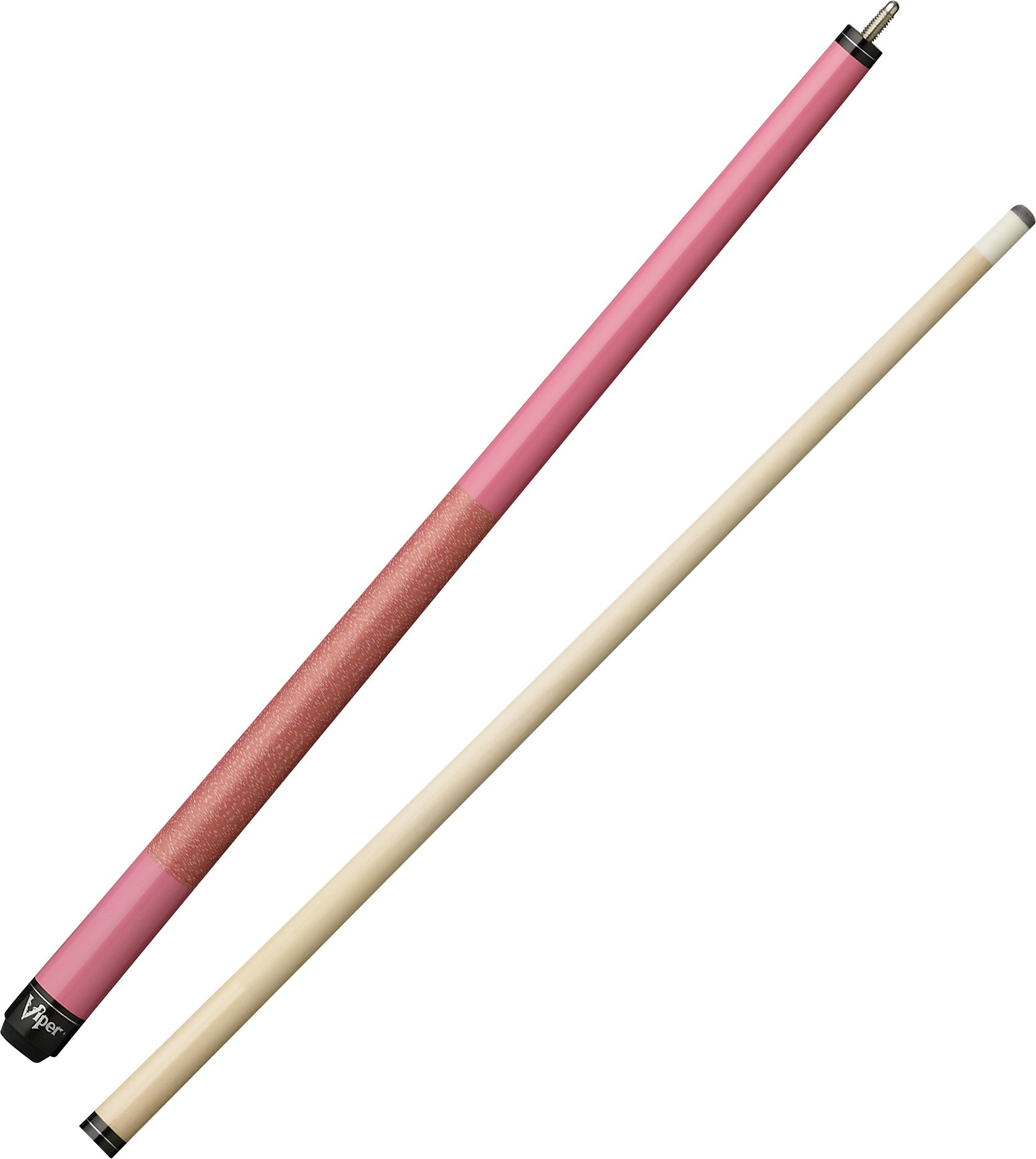 Viper Junior 48'' 2-Piece Billiard/Pool Cue, Pink Lady, 16 Ounce