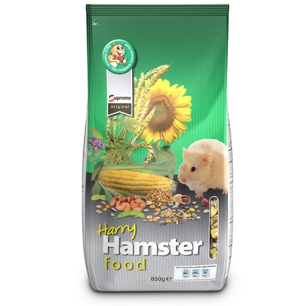 Harry Hamster Hamster & Gerbil Food 700g 6 pack by Supreme Petfoods Limited