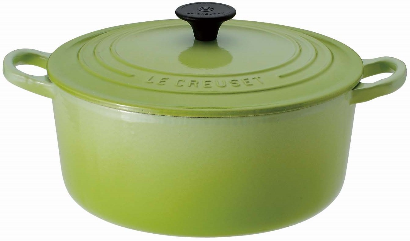 Le Creuset Enameled Cast-Iron 2-Quart Round French Oven, Kiwi