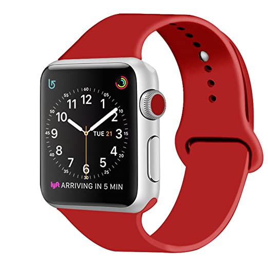 302 opinioni per ZRO Cinturino for Apple Watch, Morbido Silicone Braccialetto Sportiva di