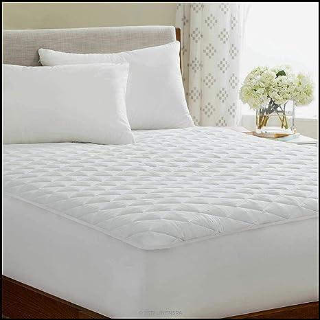 ARITRADERSLTD - Protector Acolchado para colchón, 100% algodón, 40 ...