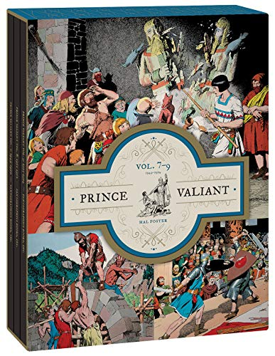 Pdf Graphic Novels Prince Valiant Vols. 7-9 Gift Box Set (Prince Valiant)