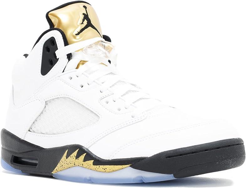 Air Jordan 5 Retro Olympic (Gold Metal