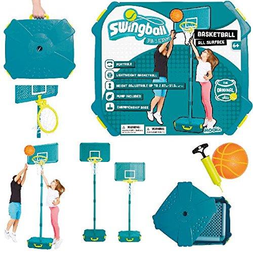 (Swingball All Surface Basketball Set)