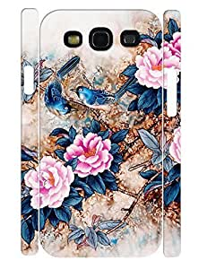 3D Print Trendy Pink Rose Flower Design Handmade Cell Phone Protective Cover Case for Samsung Galaxy S3 I9300 hjbrhga1544