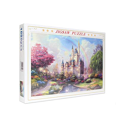 DFHYAR Games - Signature Collection - Magic Castle - 1000 Piece Jigsaw Puzzle, Multi Puzzles 27 x 20 Inches: Toys & Games