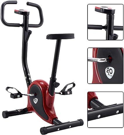 Goplus Bicicleta de Interior Bicicleta de Fitness Bicicleta ...