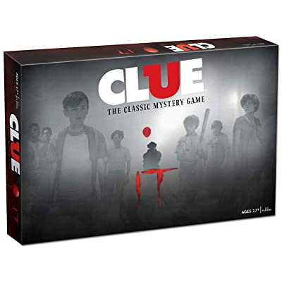 Clue IT Board Game | Based on The 2020 Drama/Thriller IT | Officially Licensed IT Merchandise | Themed Classic Clue Game: Toys & Games