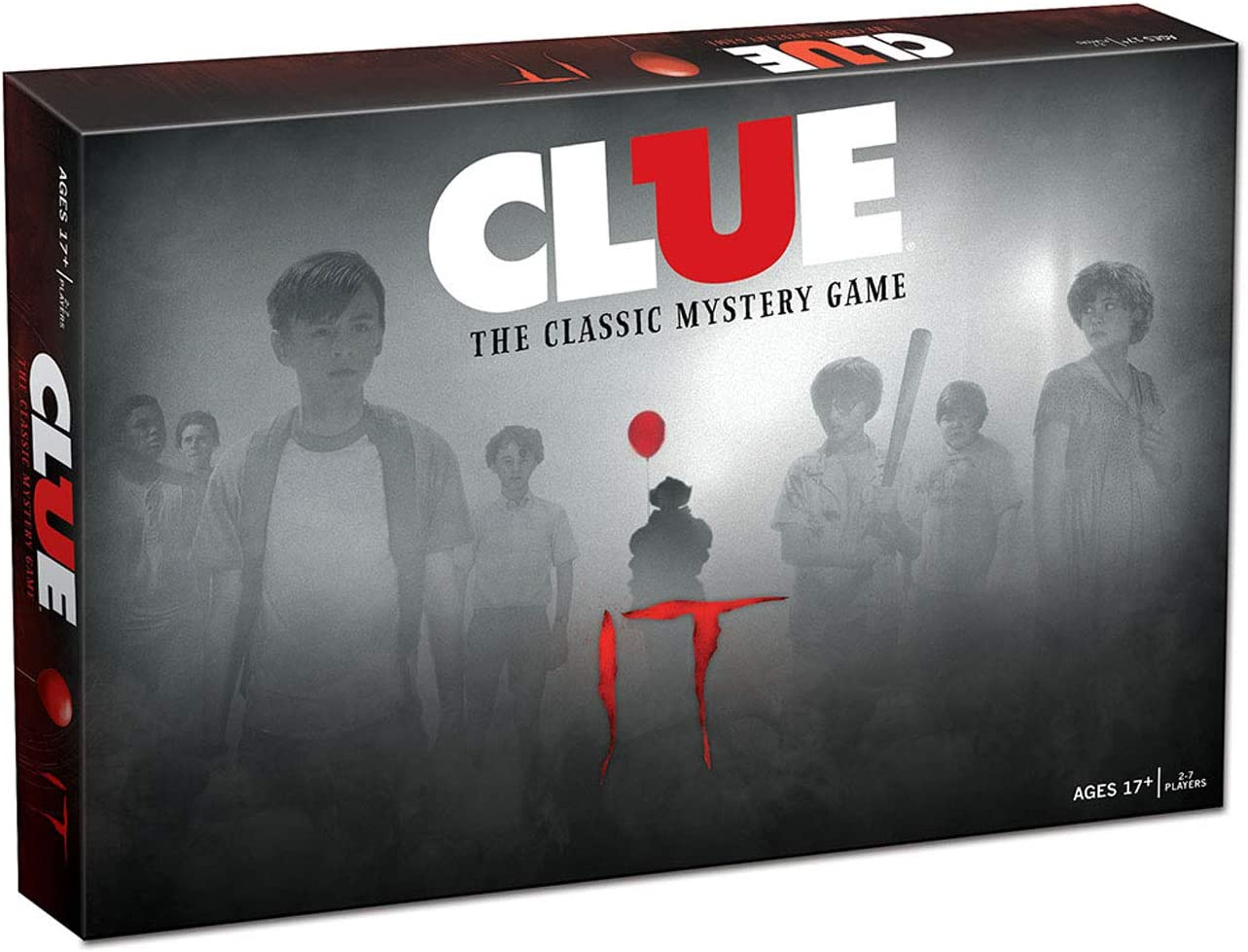 USAopoly Clue Stephen KingS IT Movie Edition Board Game: Amazon.es: Juguetes y juegos